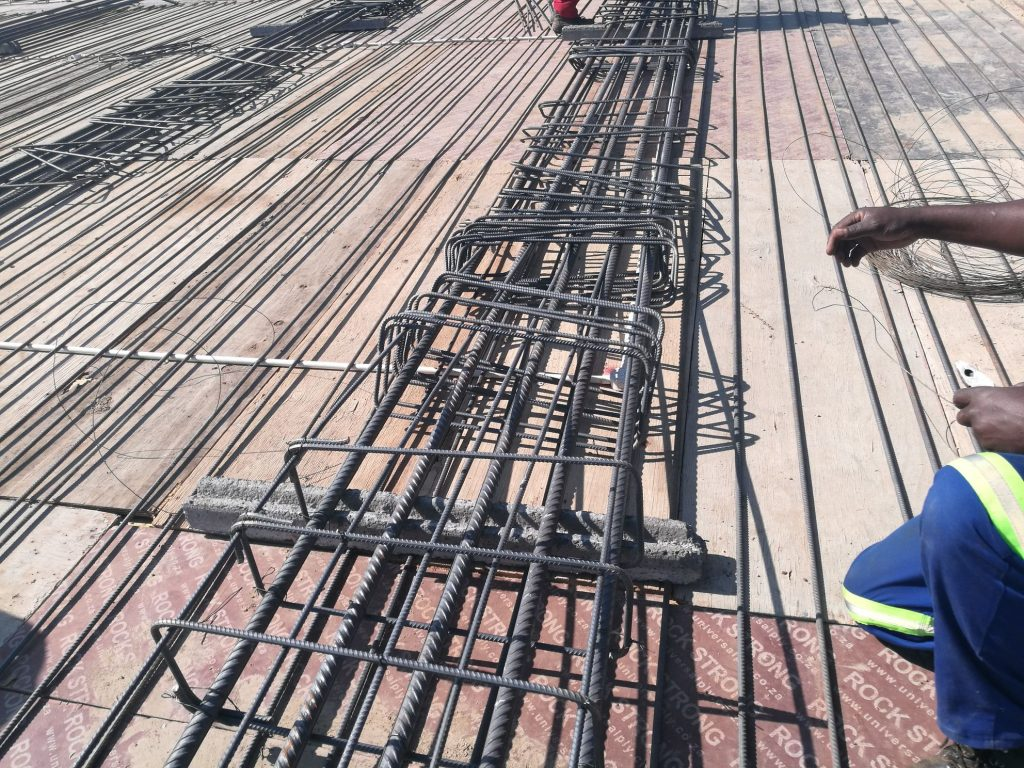 Reinforcing the slab_61