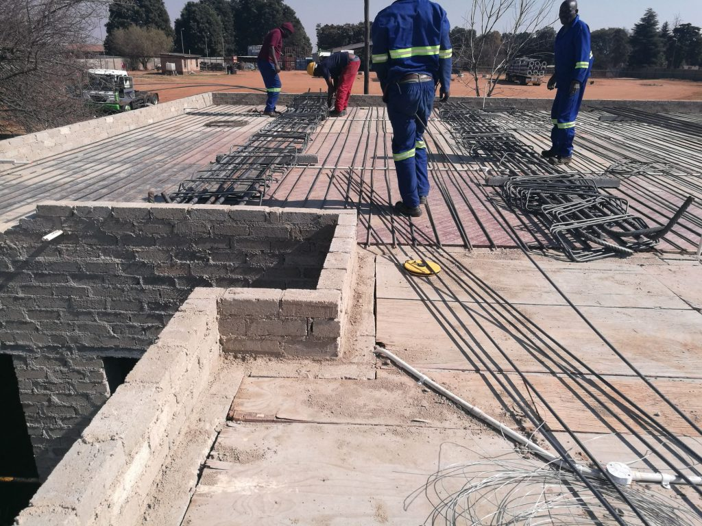 Reinforcing the slab_63