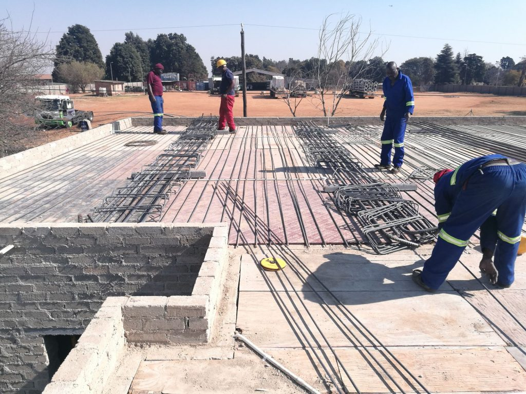 Reinforcing the slab_65