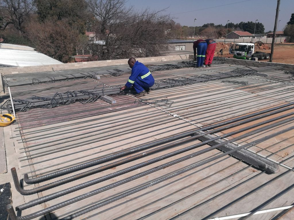 Reinforcing the slab_67
