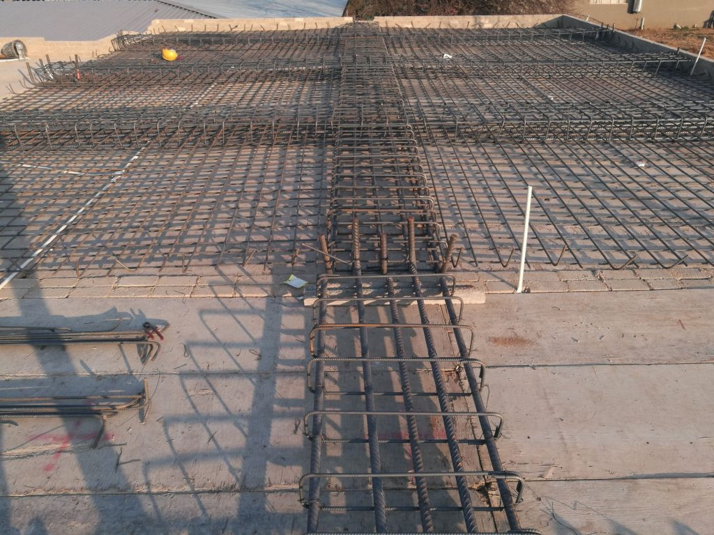 Reinforcing the slab_7