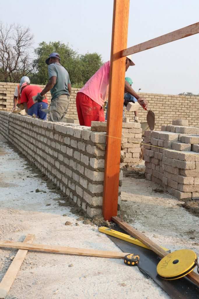 Second storey brick work_school_1
