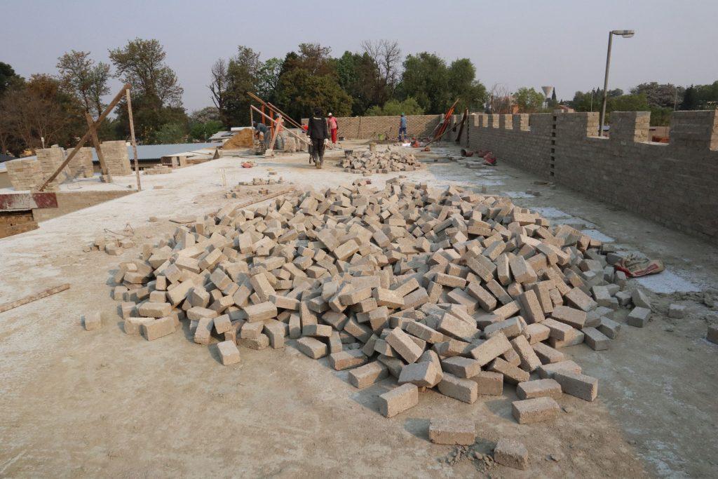 Second storey brick work_school_11