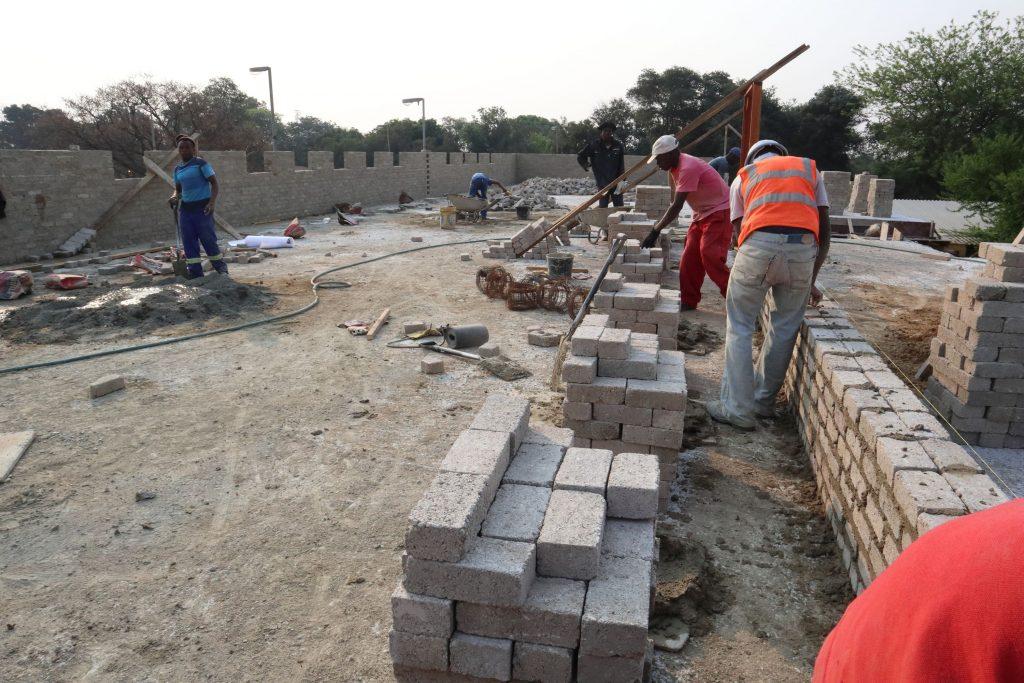 Second storey brick work_school_17