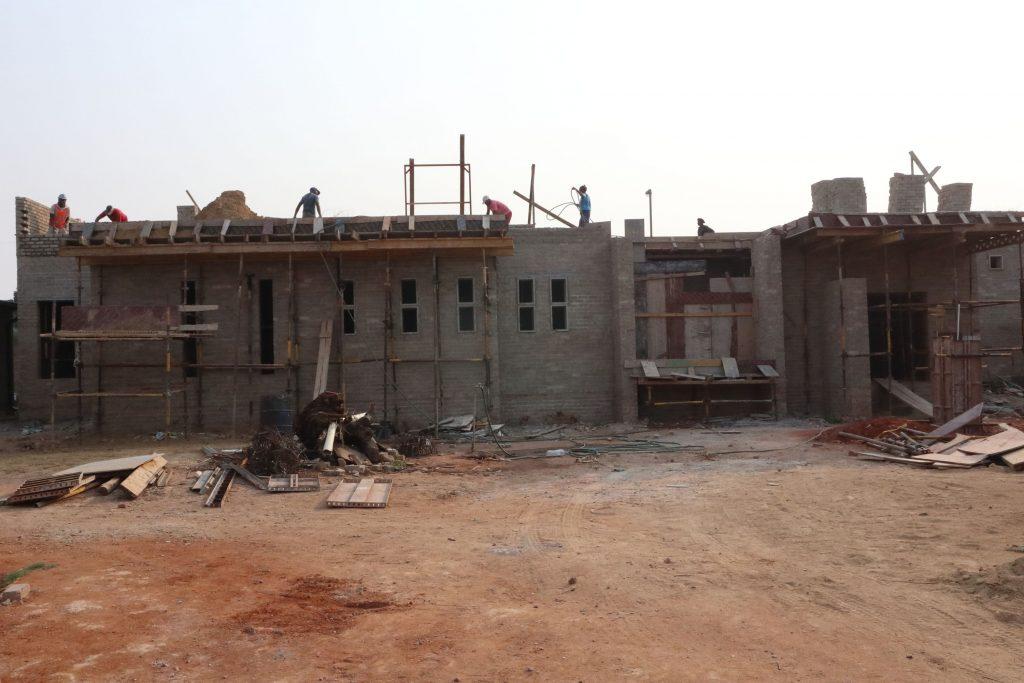 Second storey brick work_school_26