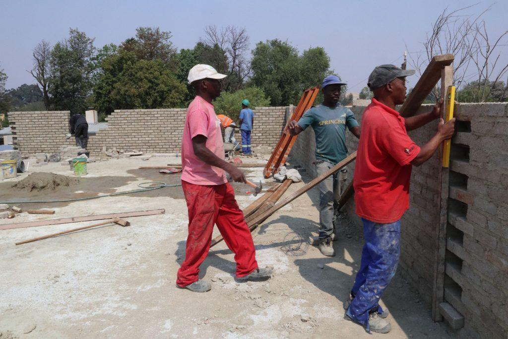 Second storey brick work_school_28