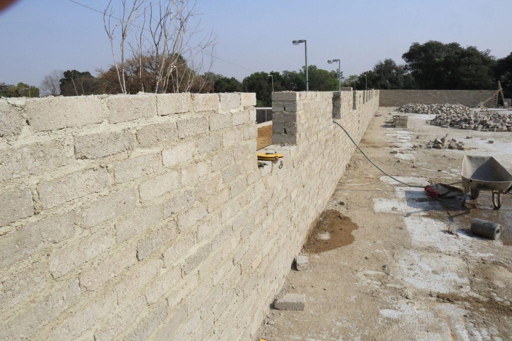 Second storey brick work_school_29