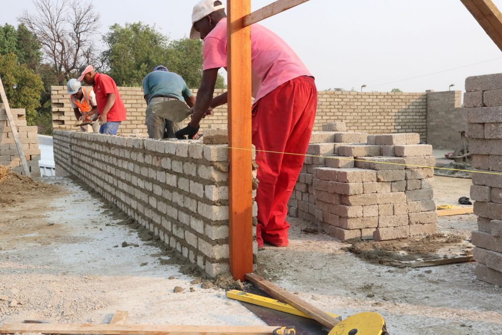 Second storey brick work_school_3