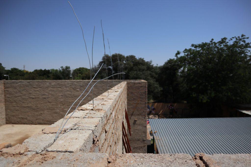 Roof slab progress
