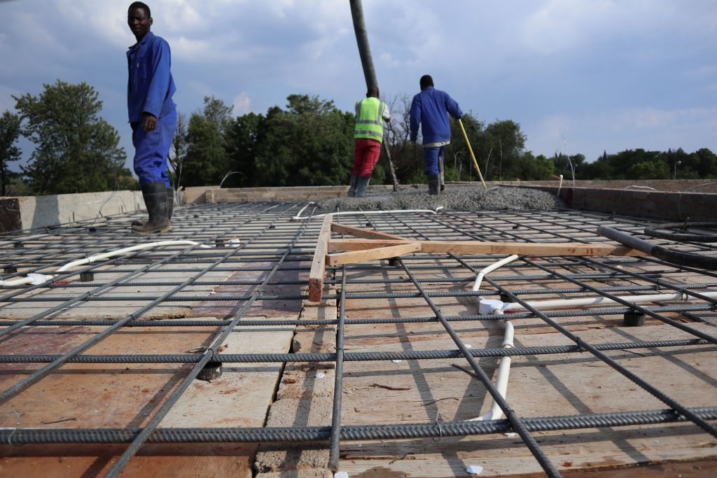 Roof slab progress_64