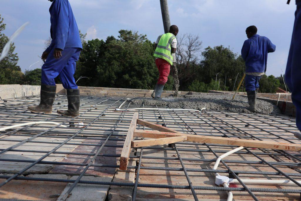 Roof slab progress_65