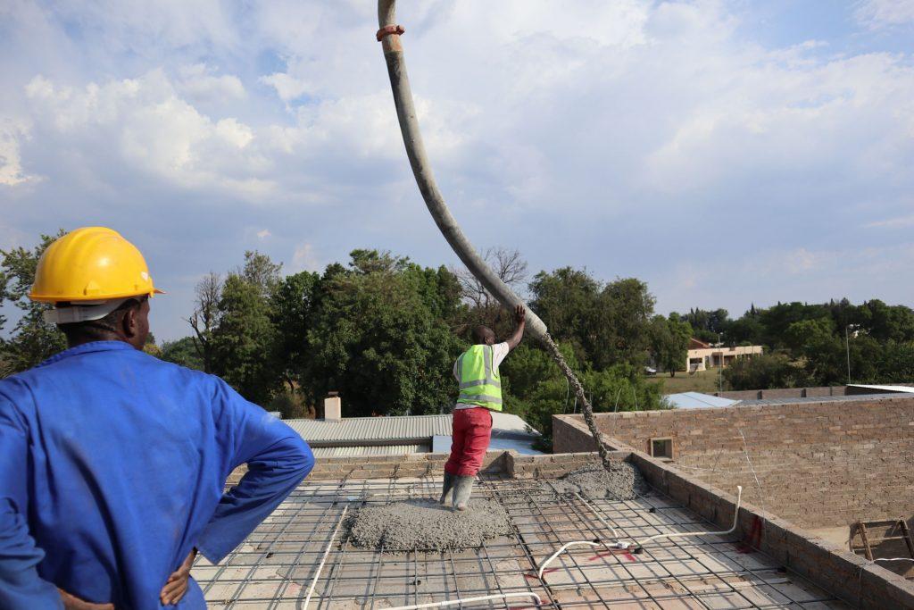Roof slab progress_73