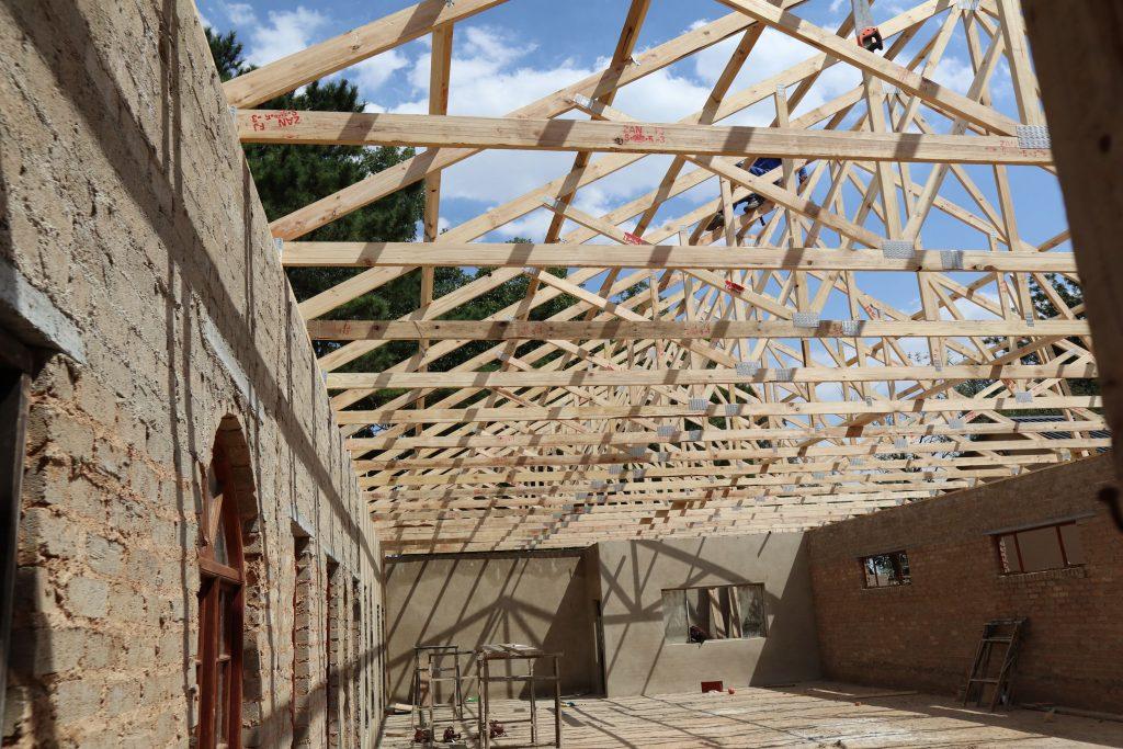 NJCH Roof in progress