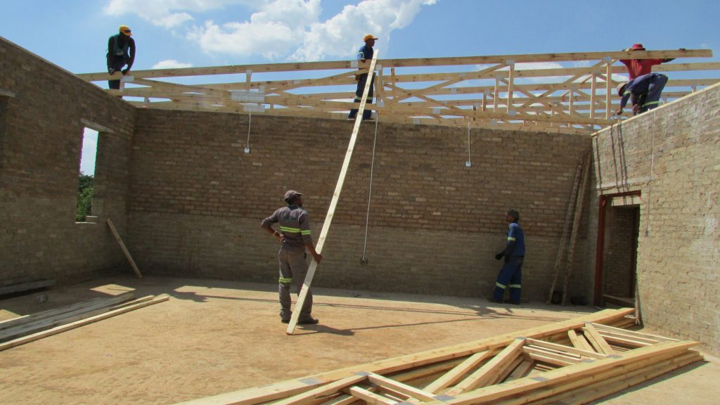 School Roof Progress _5