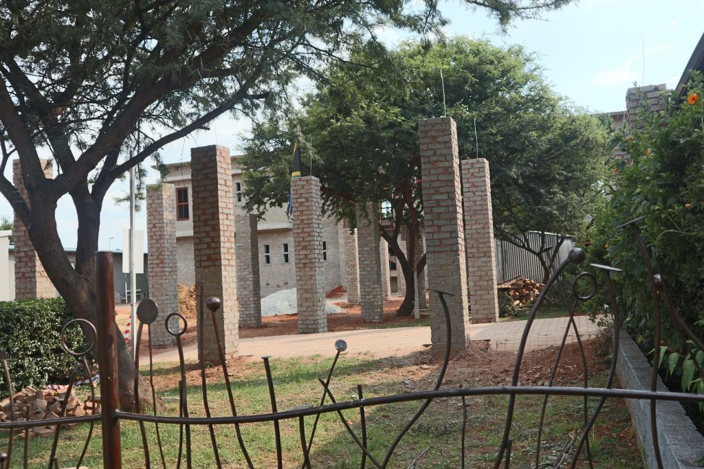 Pillars of the school building_23