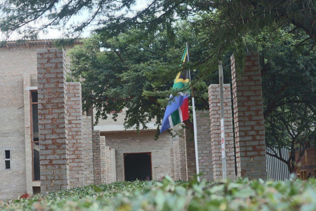 Pillars of the school building_25