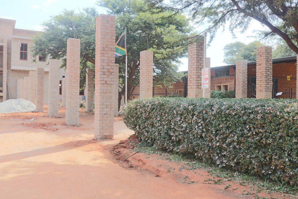 Pillars of the school building_26
