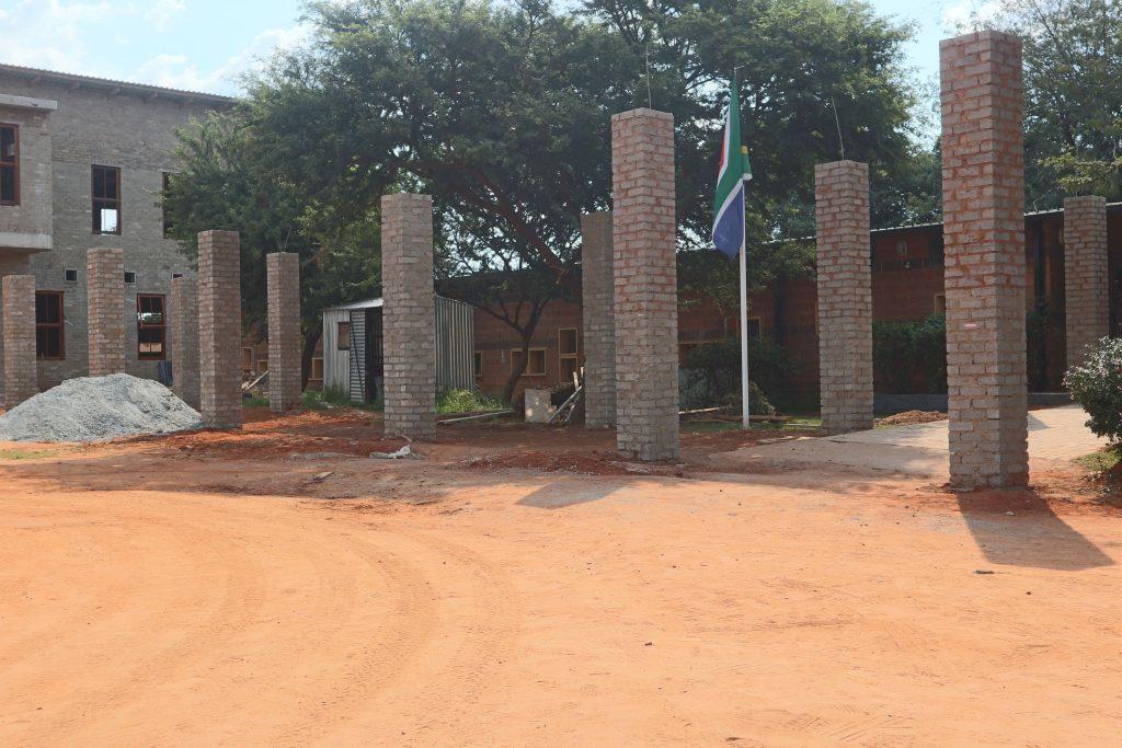 Pillars of the school building_27