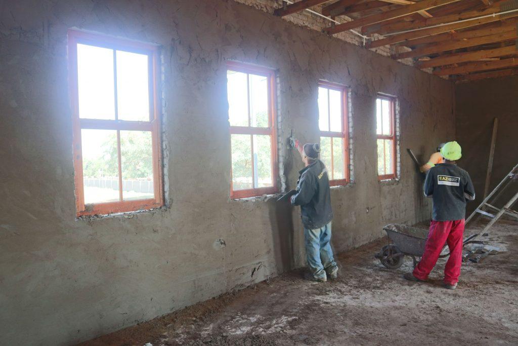 Plastering progress_1