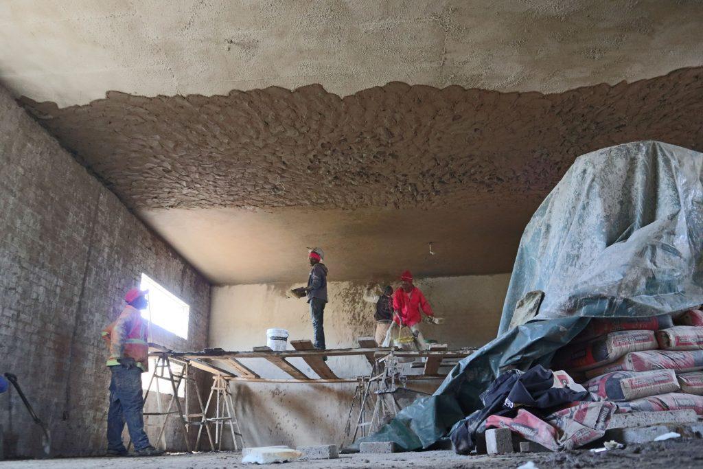 Plastering progress_109