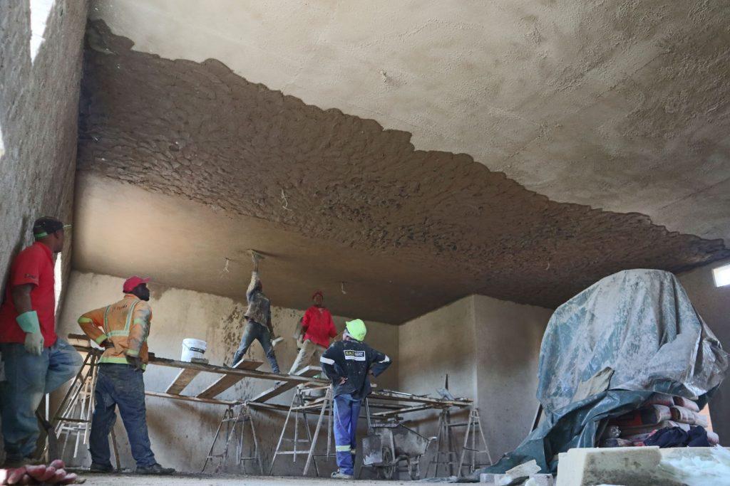 Plastering progress_110