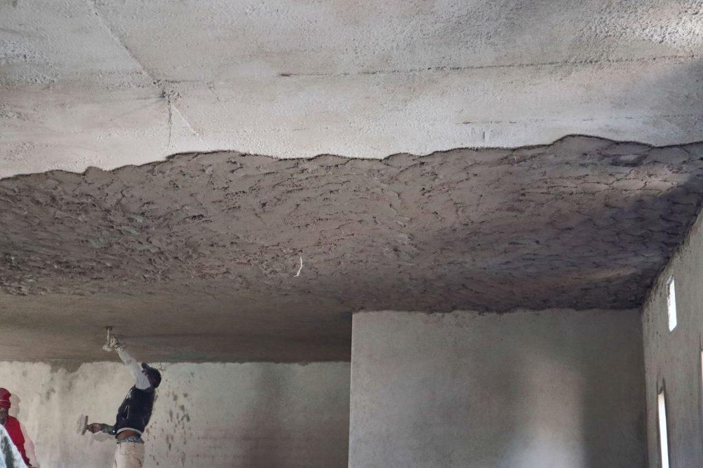 Plastering progress_112