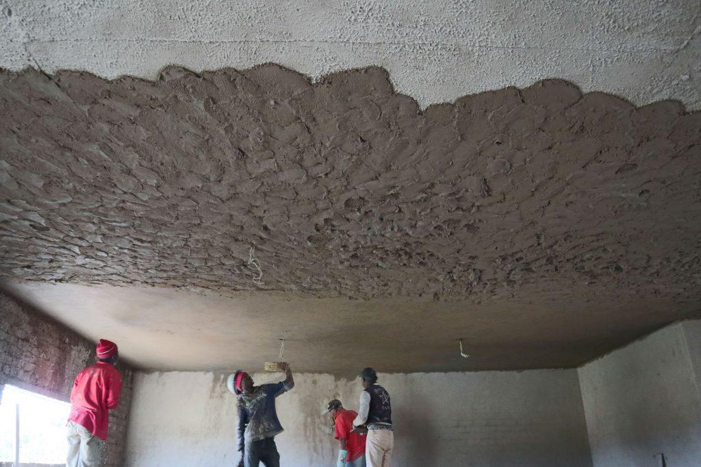 Plastering progress_118