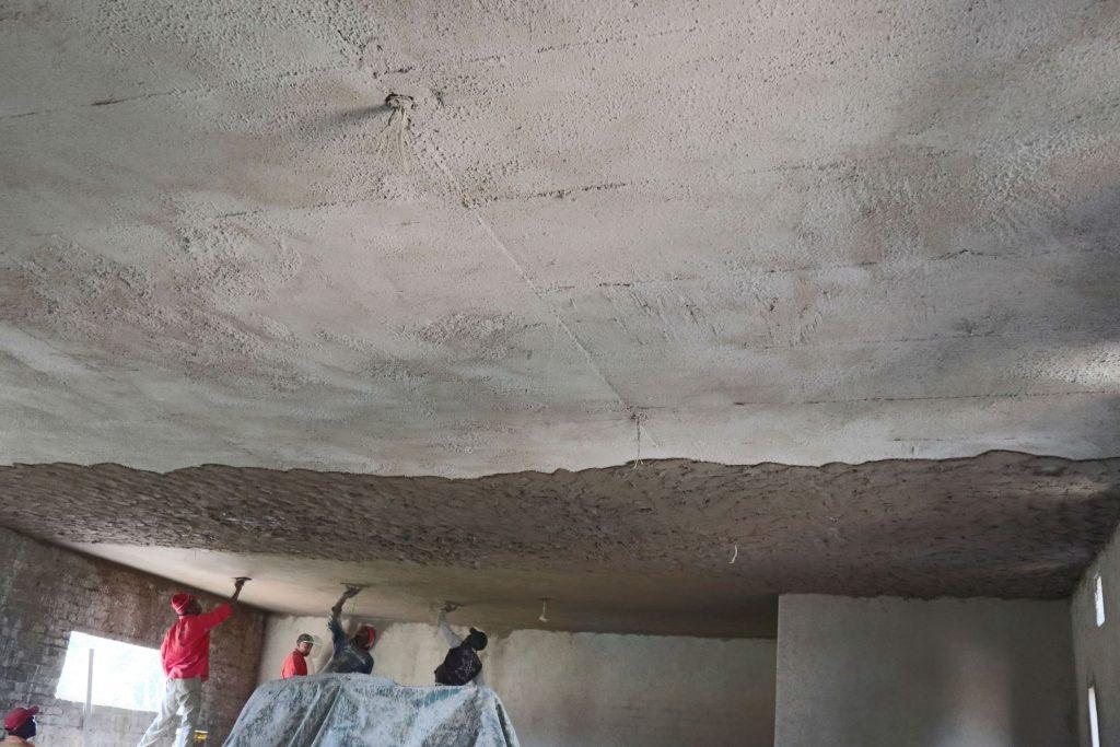 Plastering progress_120