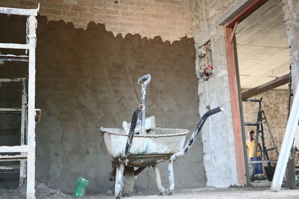 Plastering progress_124