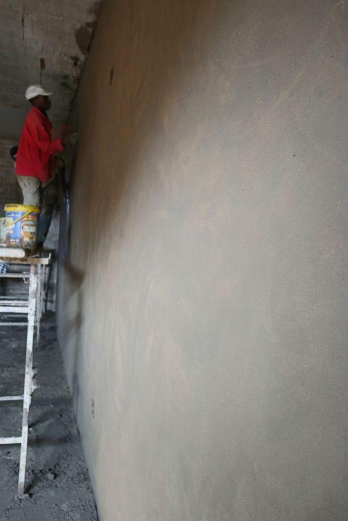 Plastering progress_129