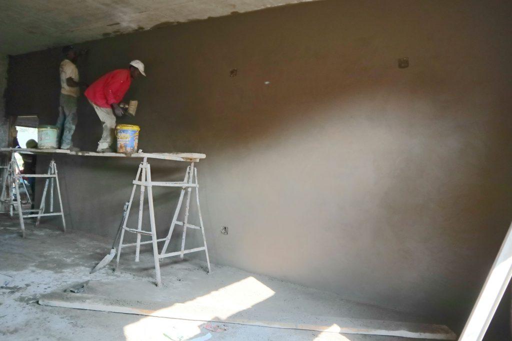 Plastering progress_130