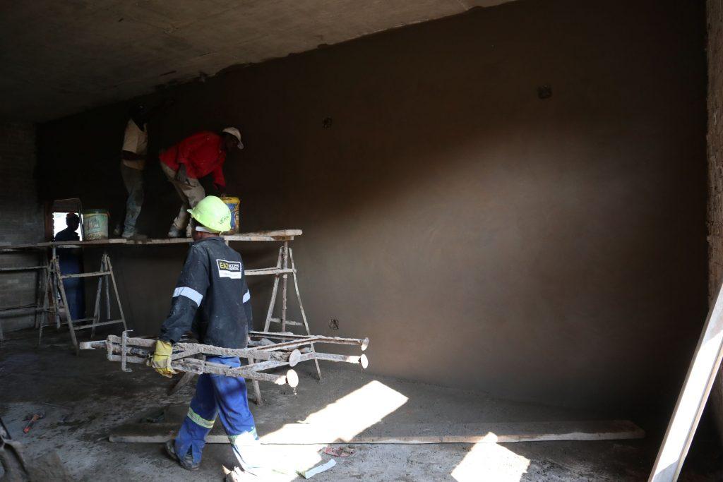 Plastering progress_131