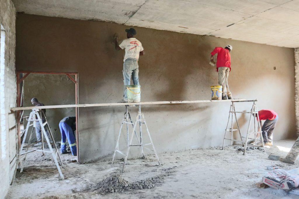 Plastering progress_139