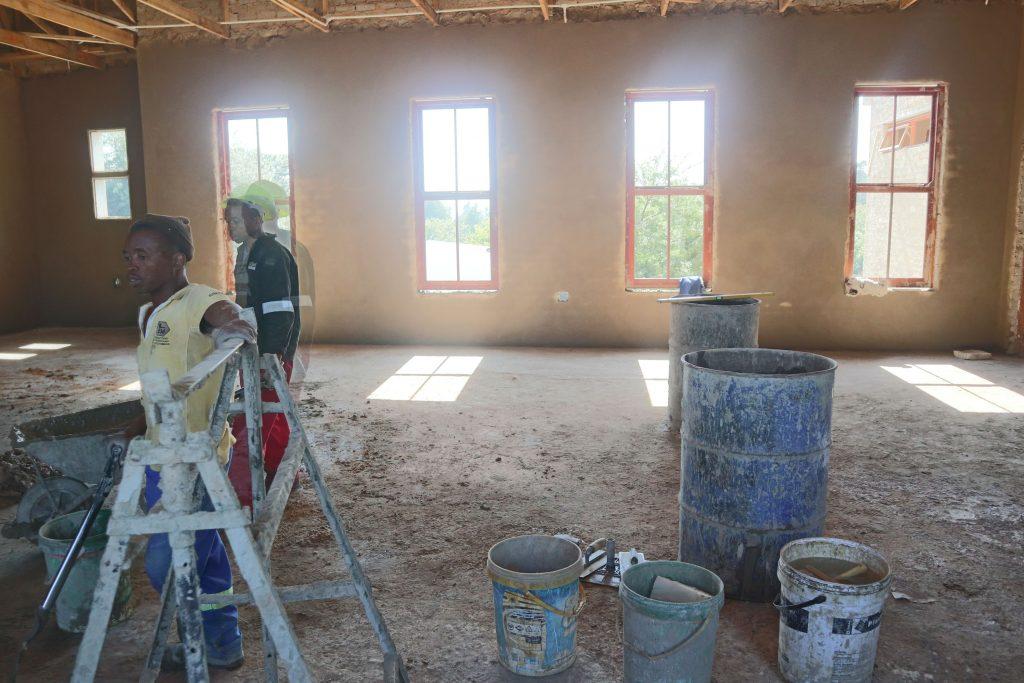 Plastering progress_4
