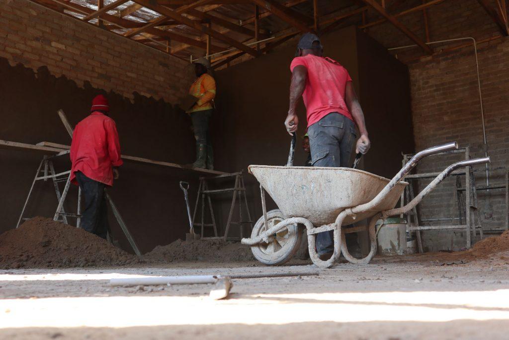 Plastering progress_47