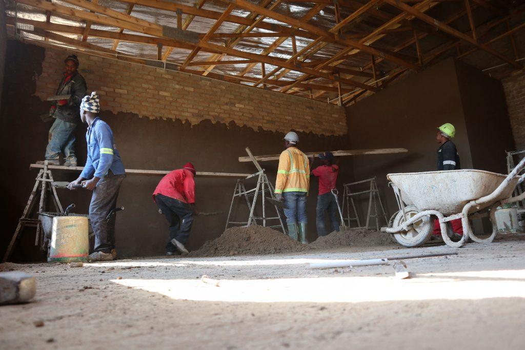Plastering progress_54