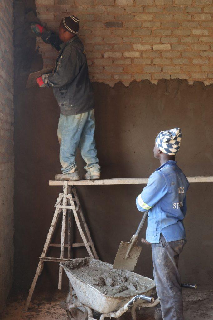 Plastering progress_57