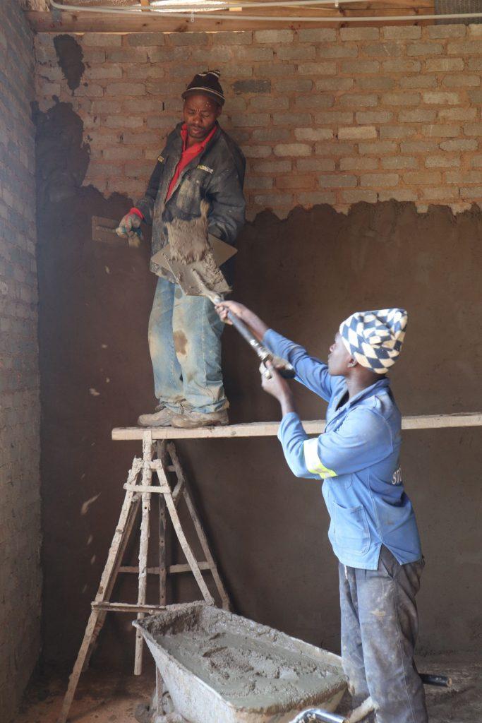 Plastering progress_58