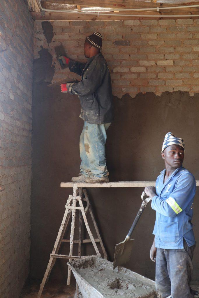 Plastering progress_59