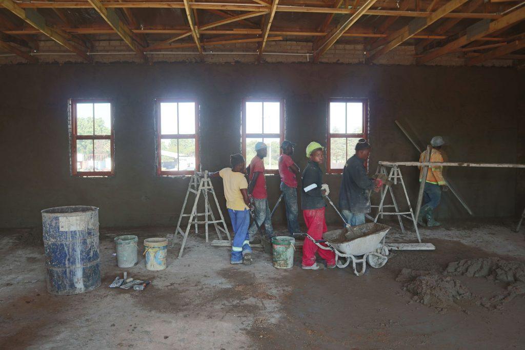 Plastering progress_6