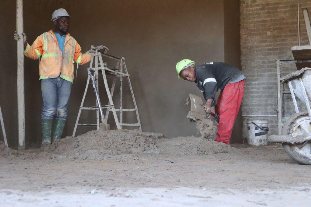 Plastering progress_60