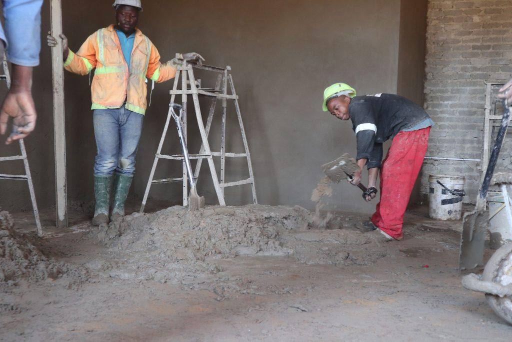 Plastering progress_61