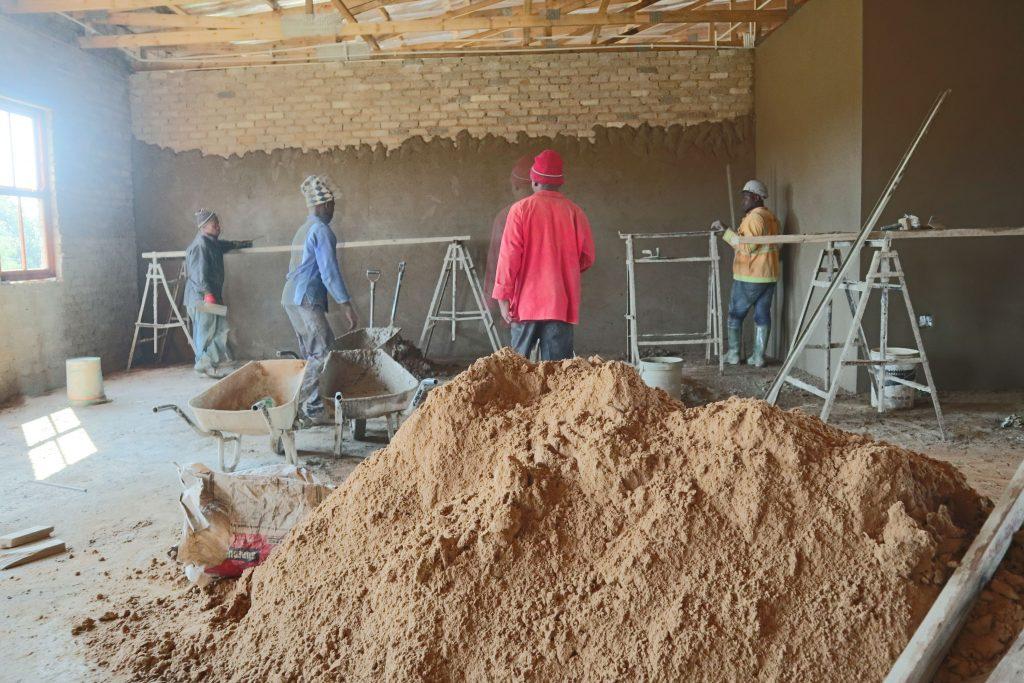 Plastering progress_63