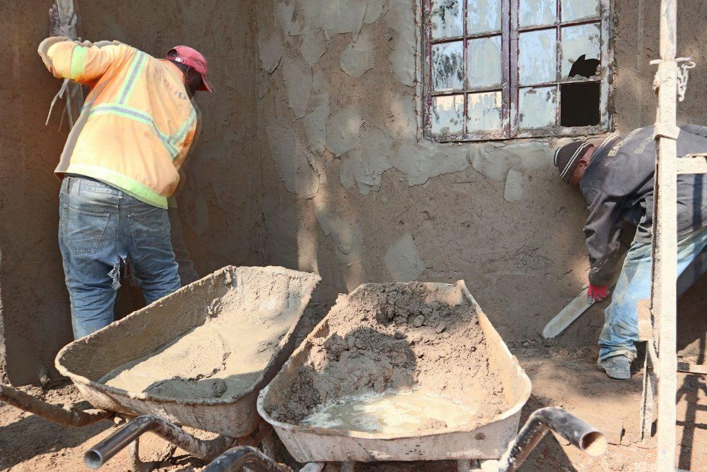 Plastering progress_65