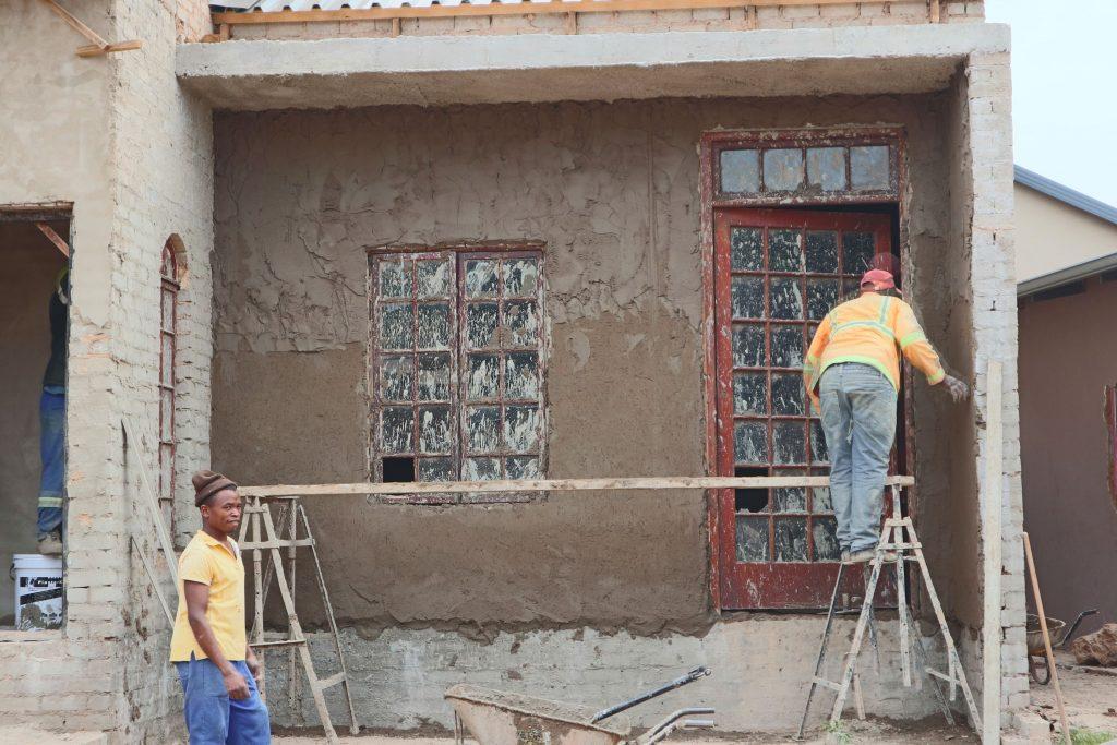 Plastering progress_86