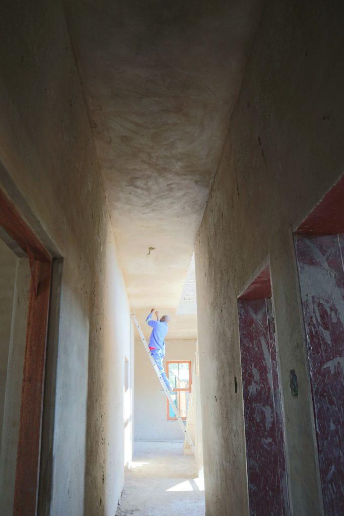 Plastering progress_99